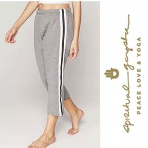 NWT Spiritual Gangster Striped Yoga Sweatpants S